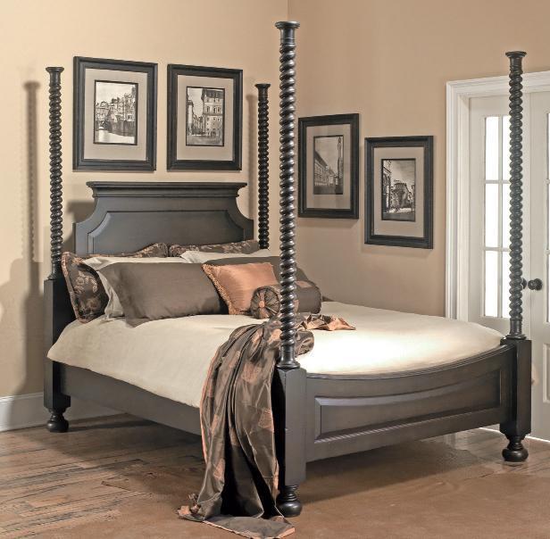 Old Biscayne Designs Custom Design Solid Wood BedsBanderas Poster Bed ...