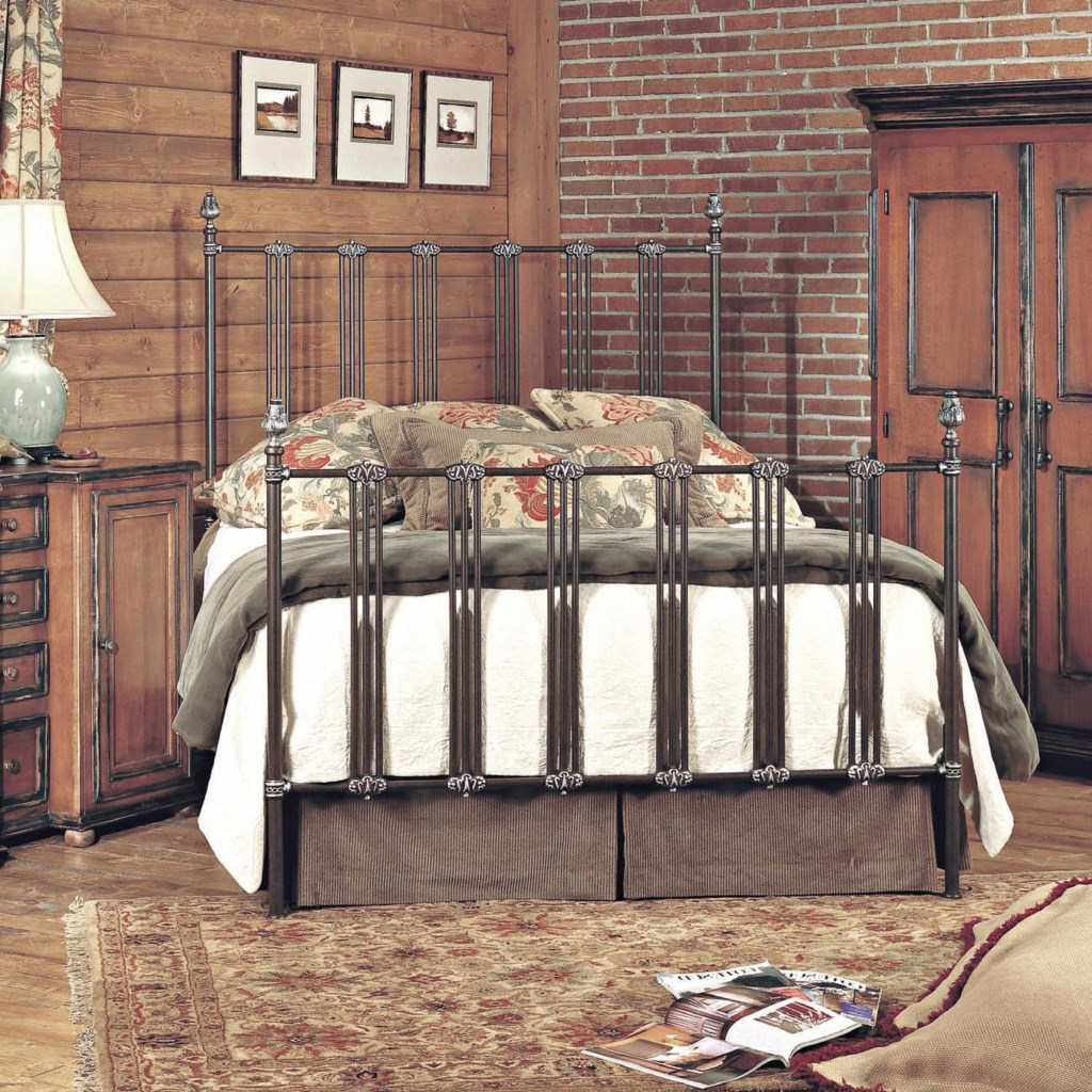 Old Biscayne Designs Custom Design Iron and Metal Beds Dimitri Metal