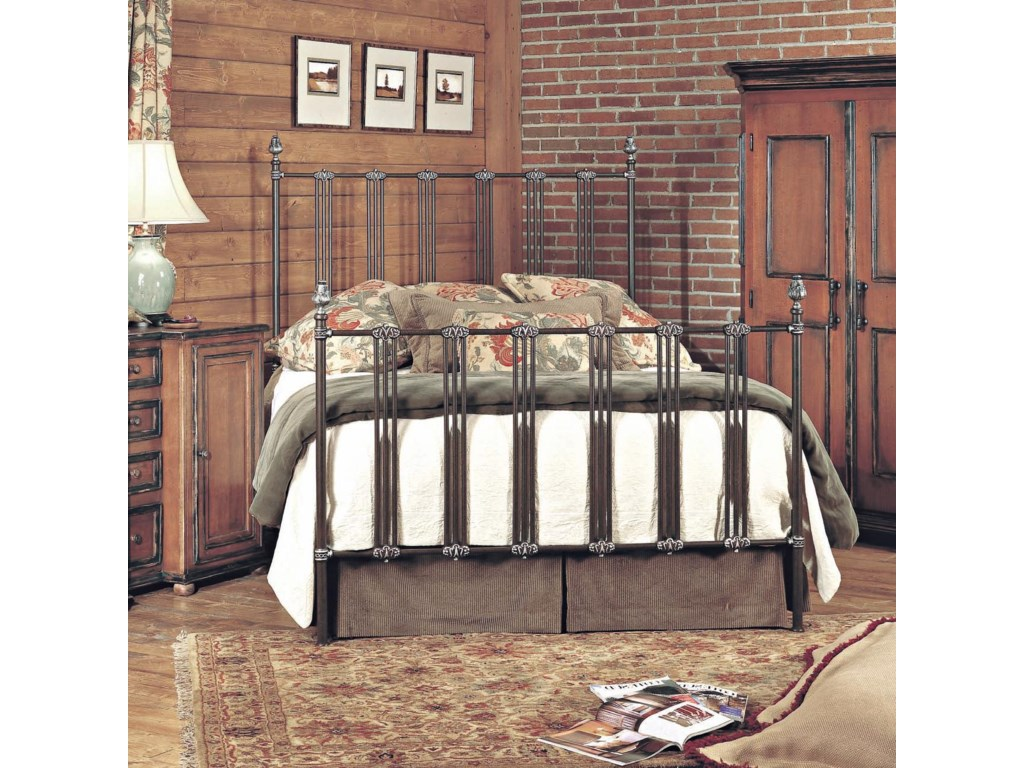 Old Biscayne Designs Custom Design Iron and Metal BedsDimitri Metal Bed