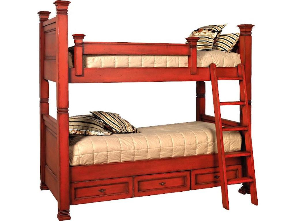 Old Biscayne Designs Custom Design Solid Wood BedsLisette Bunk Bed
