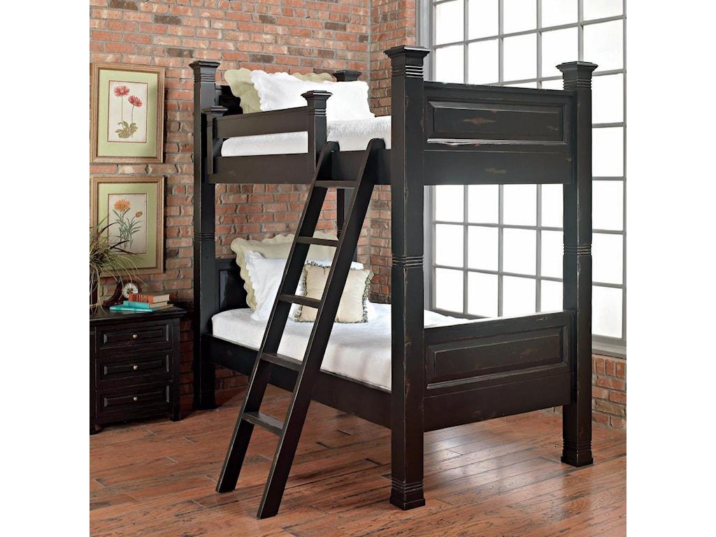 Old Biscayne Designs Custom Design Solid Wood Beds Lisette Wood Bunk