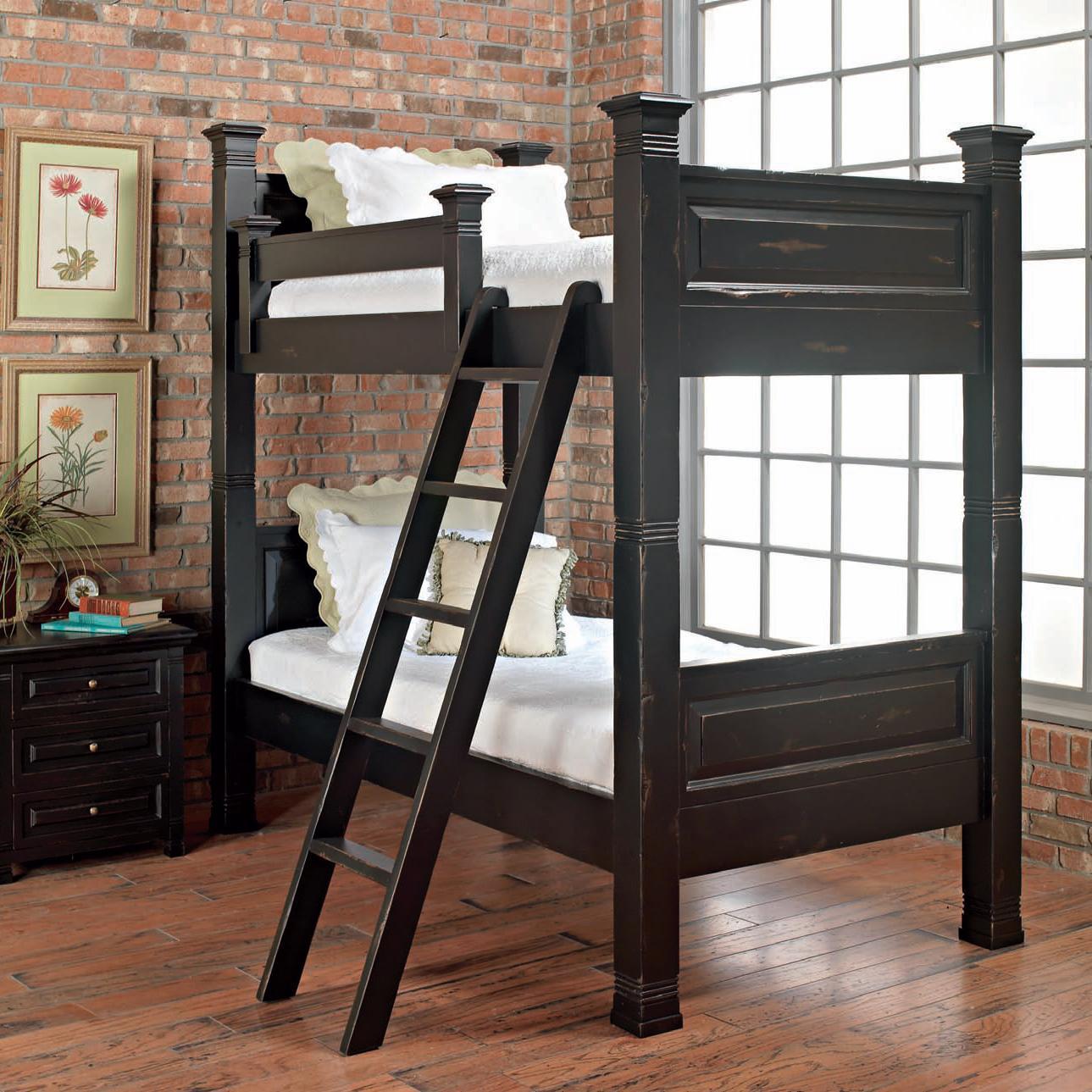 Old Biscayne Designs Custom Design Solid Wood Beds Lisette Bunk Bed