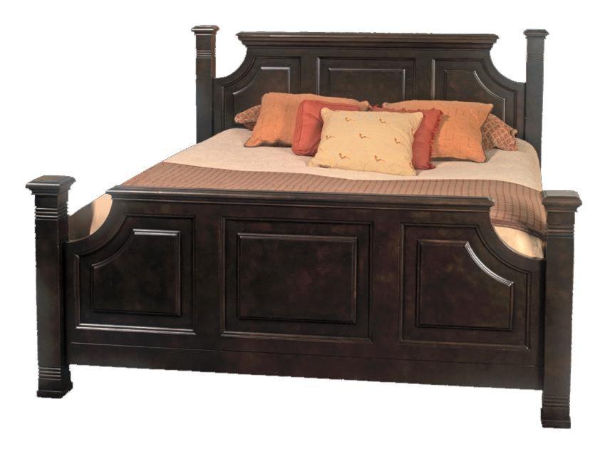 Old Biscayne Designs Custom Design Solid Wood Beds Lisette Carved ...
