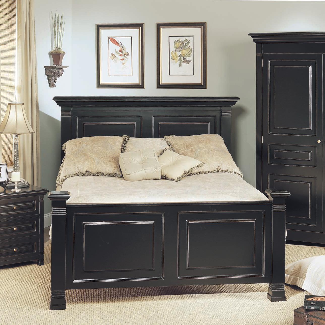 Old Biscayne Designs Custom Design Solid Wood Beds Lisette Wood Headboard  And Footboard Bed