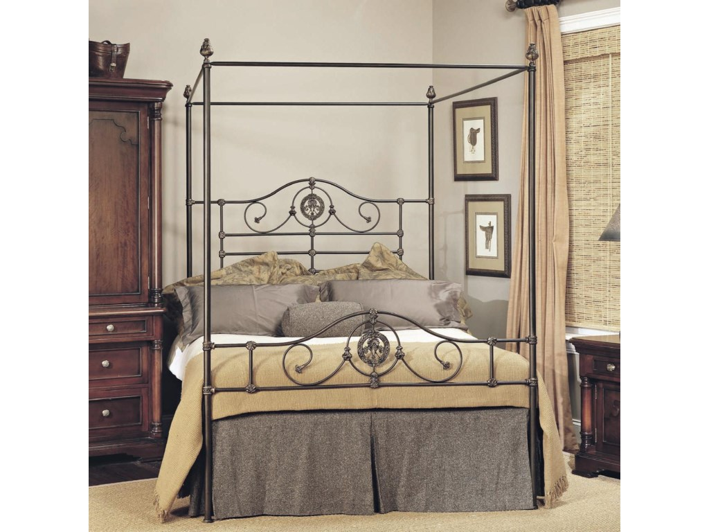 Old Biscayne Designs Custom Design Iron And Metal Beds Roget Canopy Bed