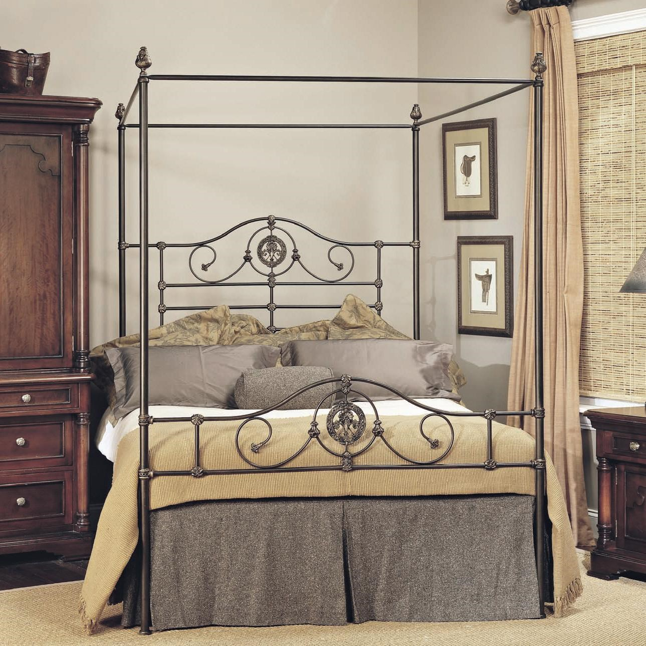 Old Biscayne Designs Custom Design Iron and Metal Beds Roget Metal Canopy Bed | Jacksonville Furniture Mart | Canopy Beds  sc 1 st  Jacksonville Furniture Mart & Old Biscayne Designs Custom Design Iron and Metal Beds Roget Metal ...