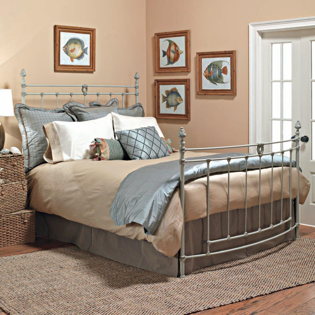 Old Biscayne Designs Custom Design Iron and Metal Beds Rosalie Metal