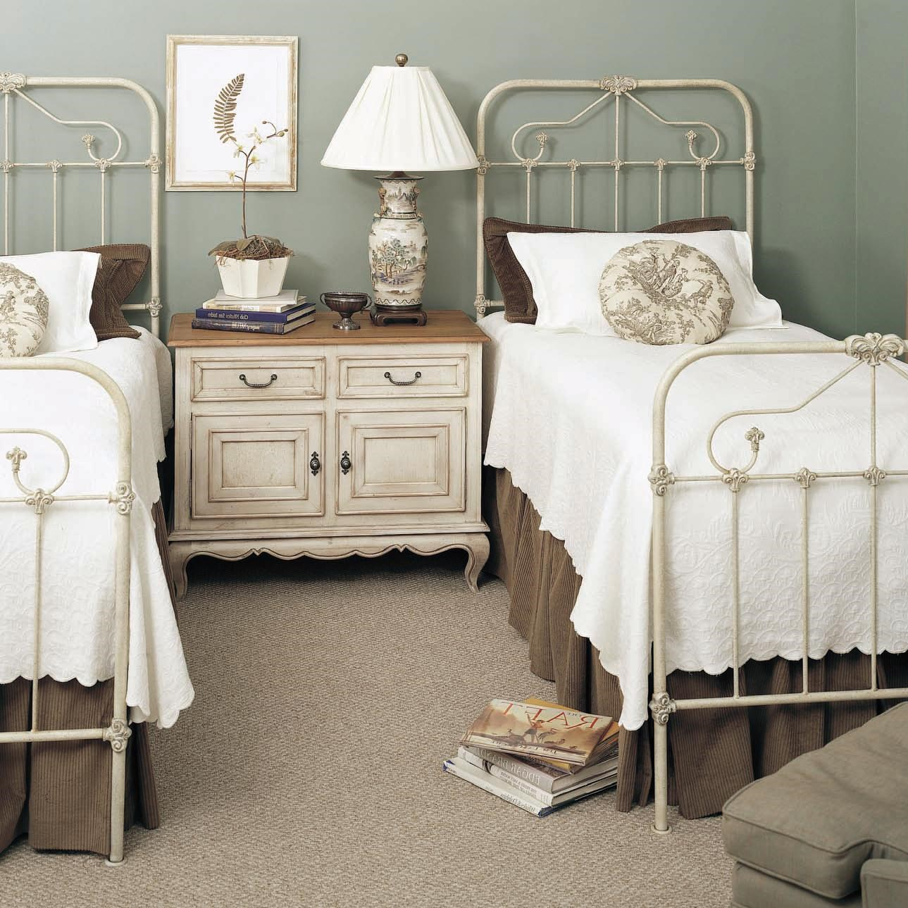 Old Biscayne Designs Custom Design Iron And Metal Beds Tearcey Metal Twin  Bed   Jacksonville Furniture Mart   Panel Beds
