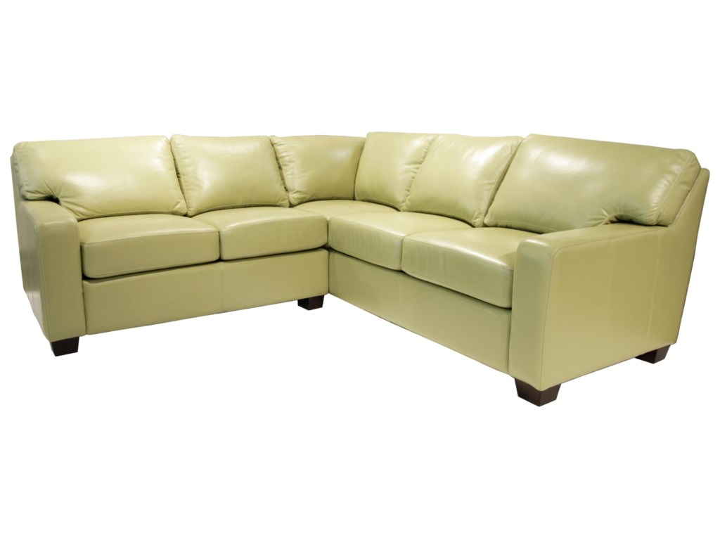 Omnia Leather AlbanySectional
