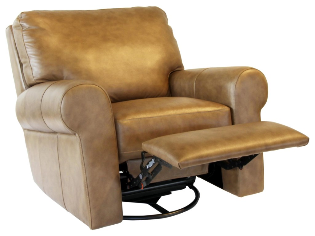 Omnia Leather ParamountPower Swivel Recliner