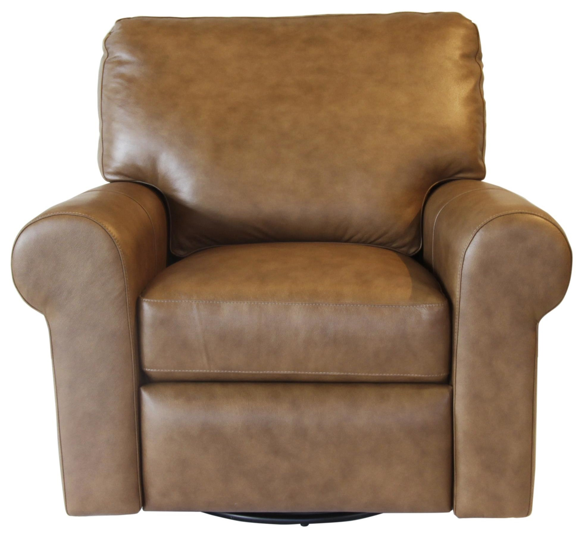 Omnia Leather ParamountPower Swivel Recliner ...