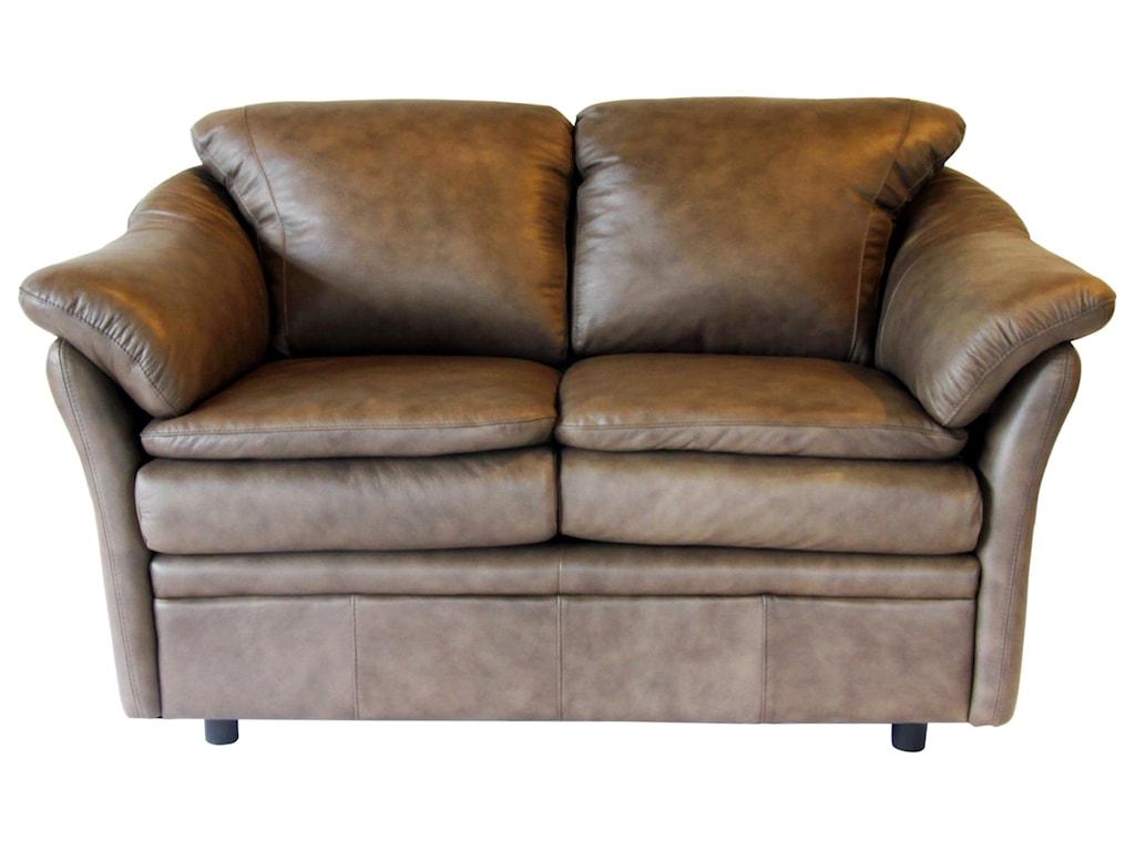 Omnia Leather UptownLoveseat