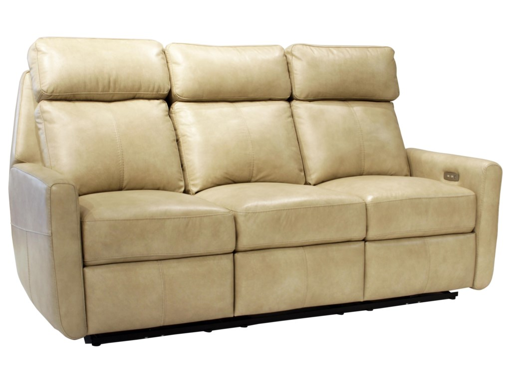 Omnia Leather Riverside DrivePower Reclining Sofa