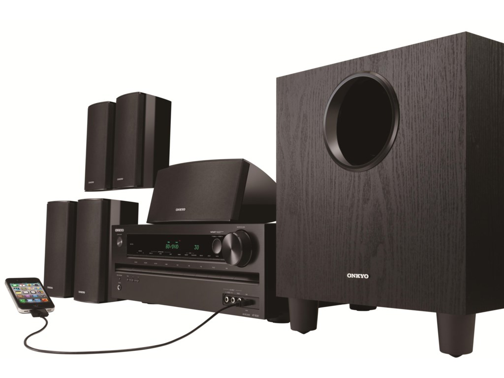 5.1 Channel Home Theater (iPod Not Included)