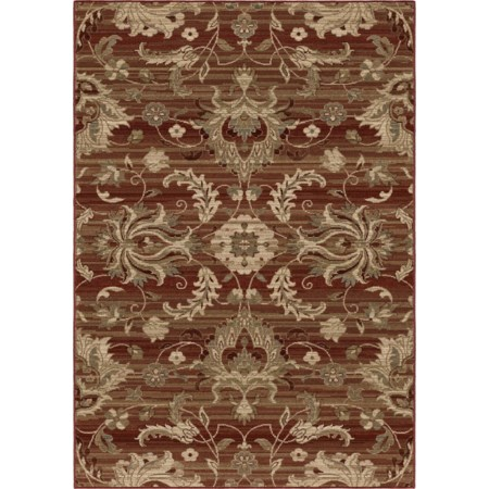 """Cae Red 6'7"""" x 9'8"""" Rug"""