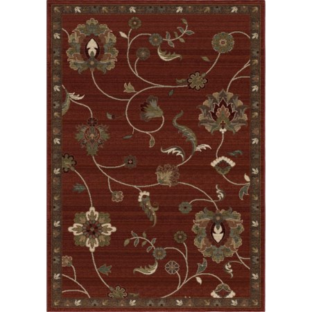 "Longstead Red 7'10"" x 10'10"" Rug"