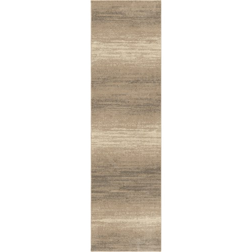 Orian Rugs Utopia Storm Front Adobe 23 X 8 Rug Boulevard Home