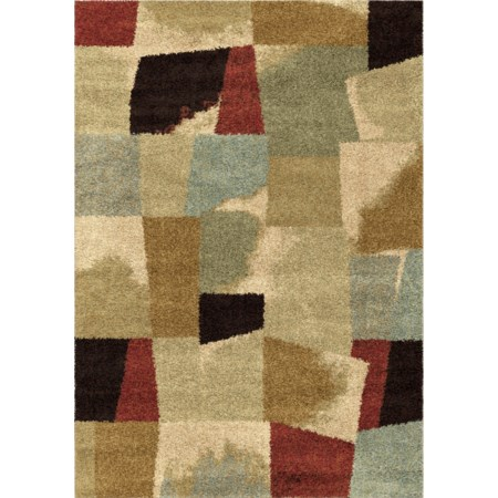 "Rampart Bisque 5'3"" x 7'6"" Rug"