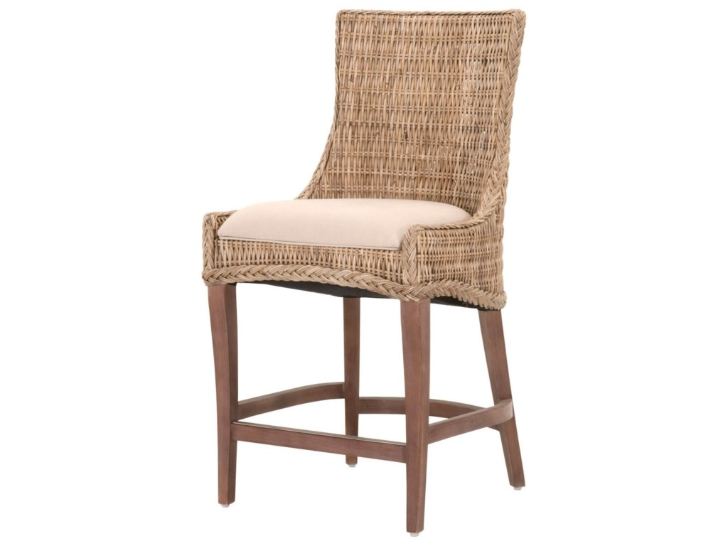 Orient Express Furniture WickerGreco Counter Stool