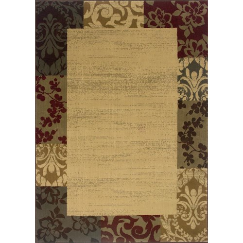 Oriental Weavers Amy  5 x 7.6 Area Rug : Multi