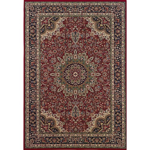 Oriental Weavers Aspire 10 x 12.7 Area Rug : Red/Black