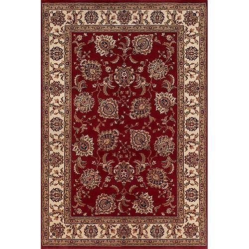 Oriental Weavers Aspire 6.7 x 9.6 Area Rug : Red
