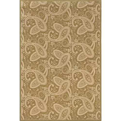 Oriental Weavers Aspire 8 x 11 Area Rug : Gold