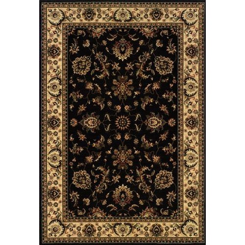 Oriental Weavers Aspire 6.7 x 9.6 Area Rug : Black