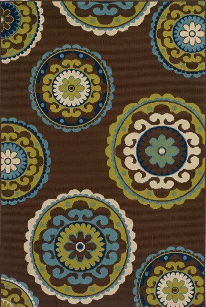 Oriental Weavers Caspian 5x8 Indoor Outdoor Rug Miskelly Furniture