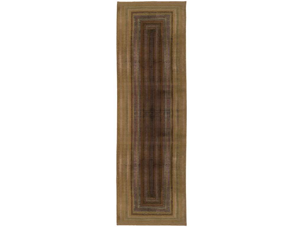 Oriental Weavers Generations8' Contemporary Beige/ Green Square Rug