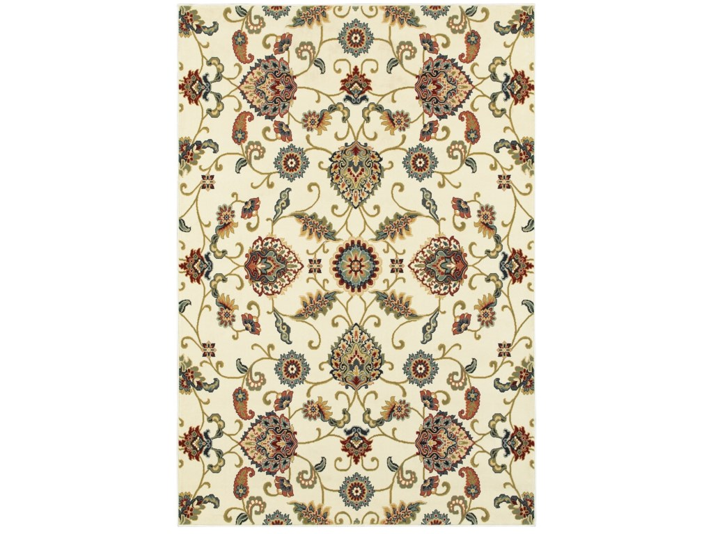 Oriental Weavers Kashan3'10