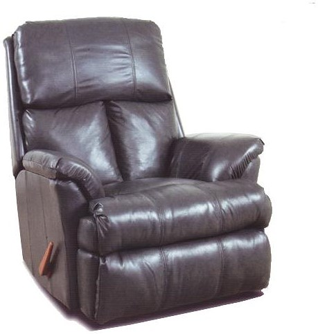 Ort Manufacturing Reserve Seating 100% Leather Chaise Wall Recliner