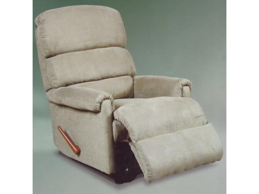 Ort Manufacturing Handle ReclinerChaise Swivel Rocker Recliner