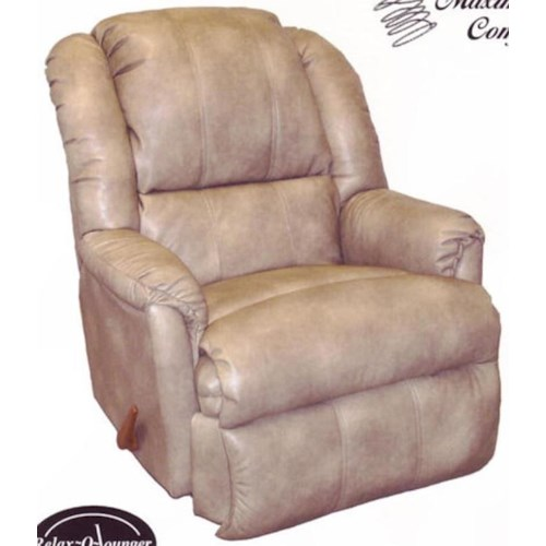 Ort Manufacturing Handle Recliner Power Chaise Rocker Recliner with Coil Seating