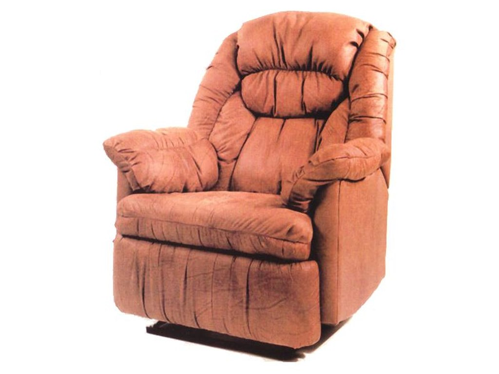 Ort Manufacturing Handle ReclinerWall Recliner w/ Coil Seating