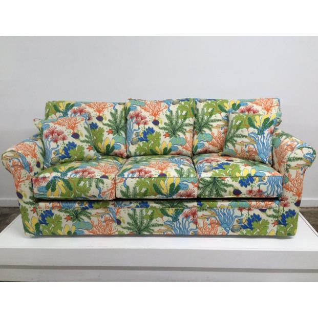 Overnight Sofa 48 Frame Casual Contemporary Queen Sleeper Sofa