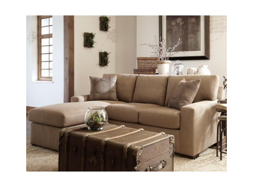 Overnight Sofa 51 FrameCasual Queen Sleeper Chaise