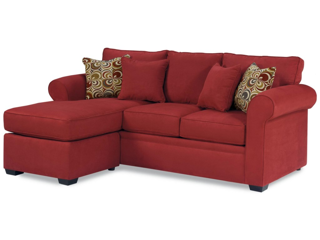 Warehouse M 56 FrameQueen Sleeper with Chaise Ottoman
