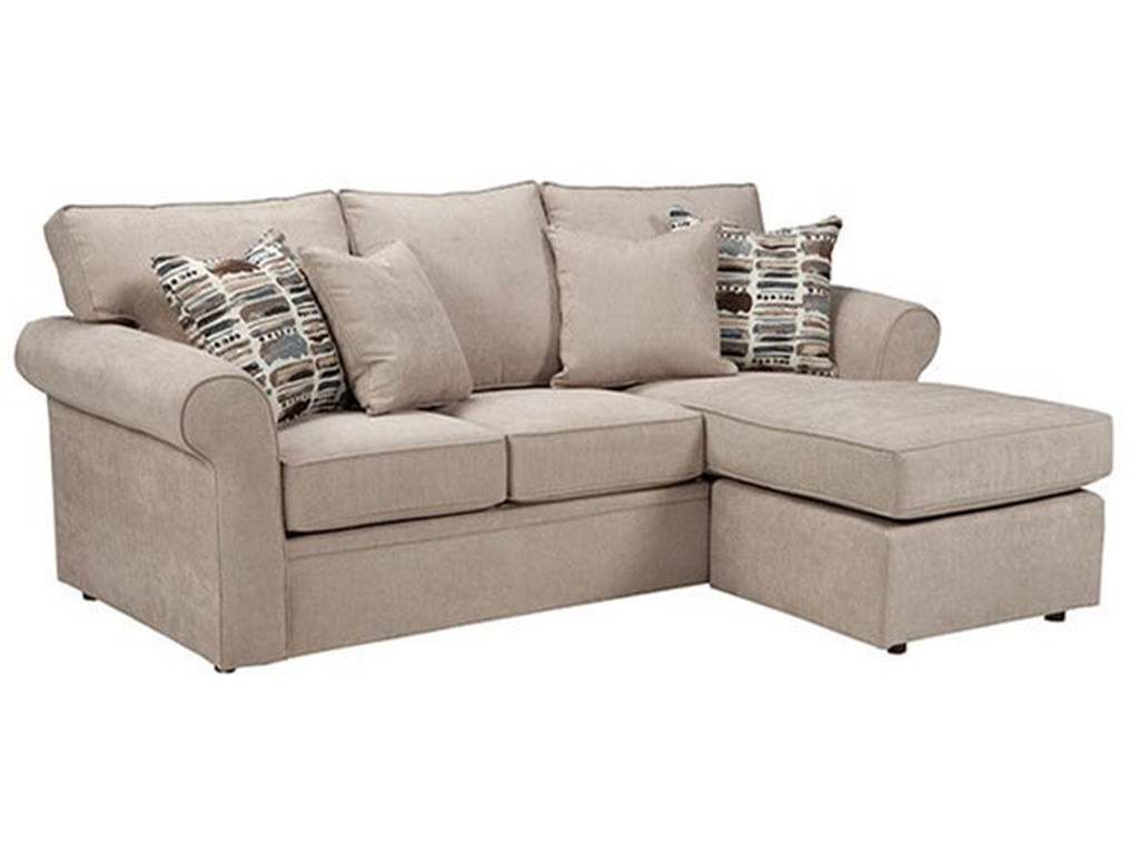 Overnight Sofa 56Queen Sleeper Chaise