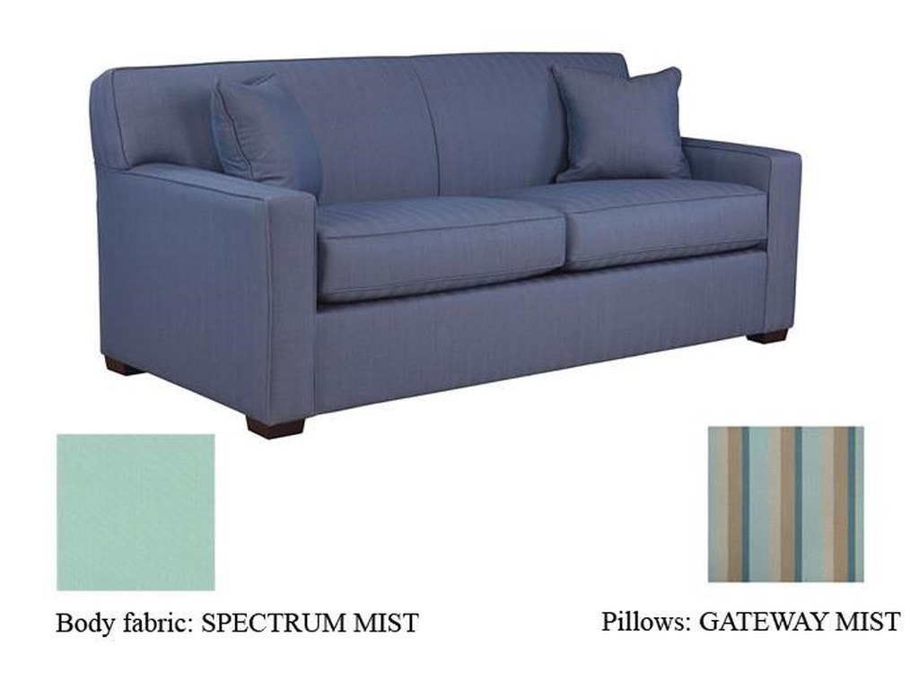 Warehouse M 59 Frame 5950 Queen Sofa Sleeper With Arms