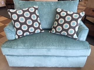 Overnight Sofa 6200Teal Sleeper Sofa