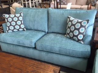 Overnight Sofa 6200Teal Queen Sleeper