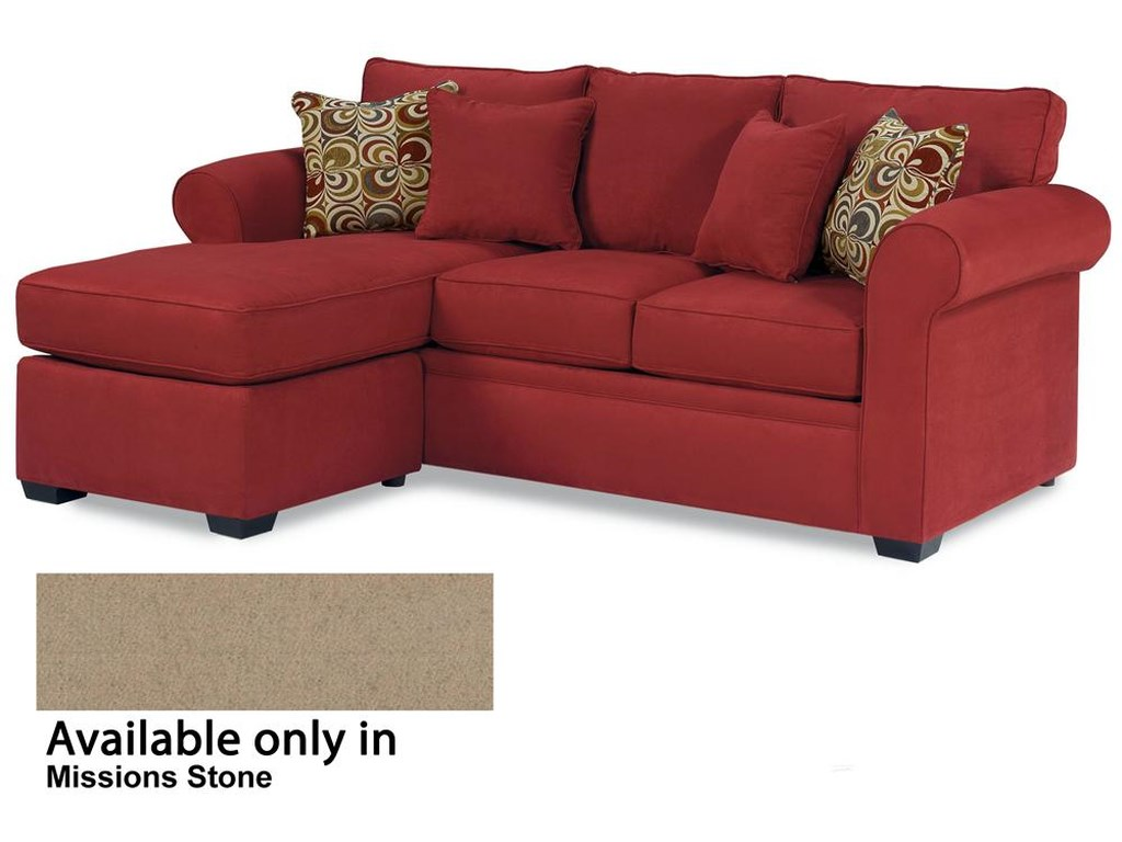 Warehouse M 56 Frame 5690 Queen Sleeper With Chaise Ottoman