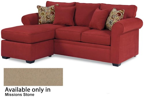 Warehouse M 56 Frame Queen Sleeper with Chaise Ottoman