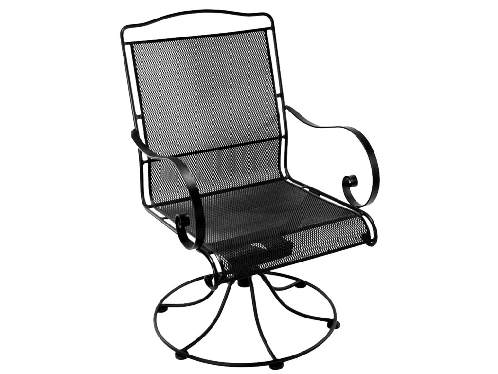 O W  Lee Avalon Swivel Rocker Dining Arm Chair with Arched