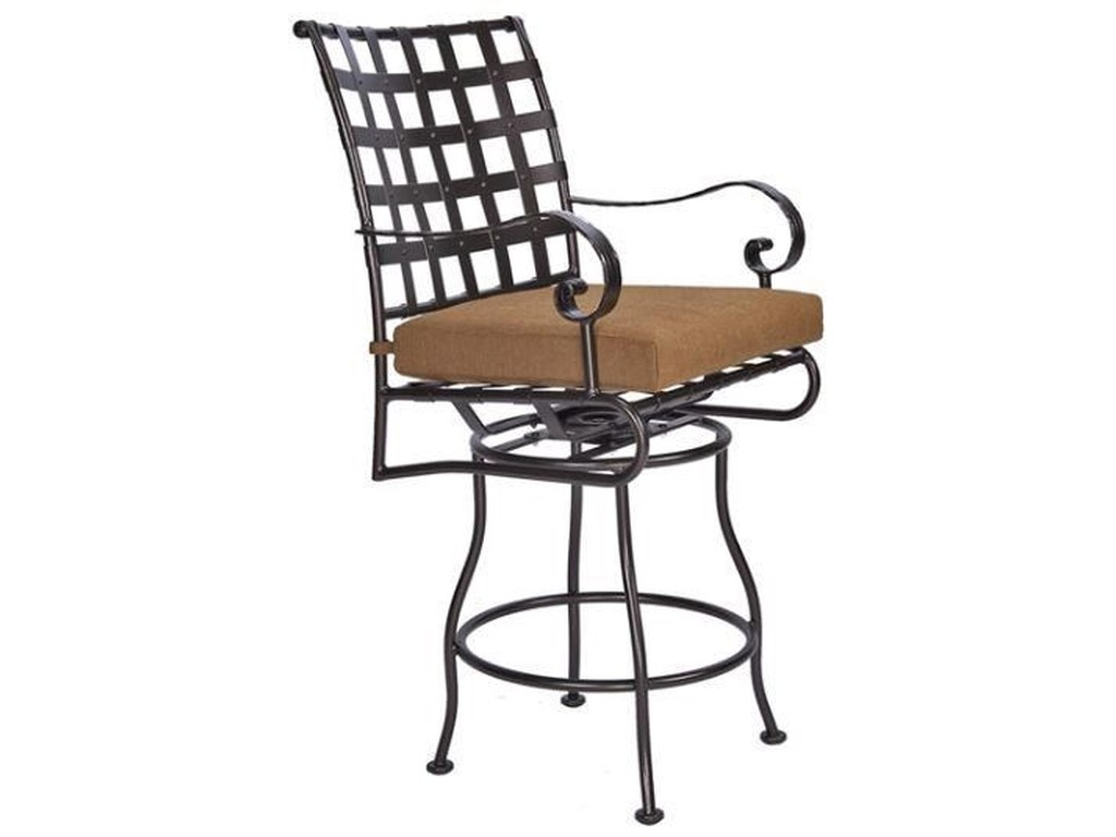 O.W. Lee ClassicoSwivel Counter Stool with Arms
