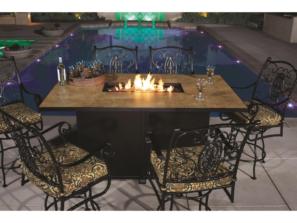 O.W. Lee Classico5 PIECE FIRE PIT GROUP