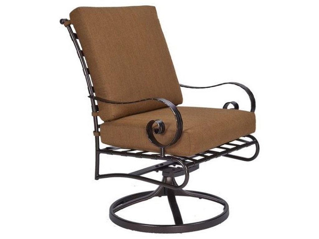 O.W. Lee ClassicoDining Swivel Rocker Arm Chair
