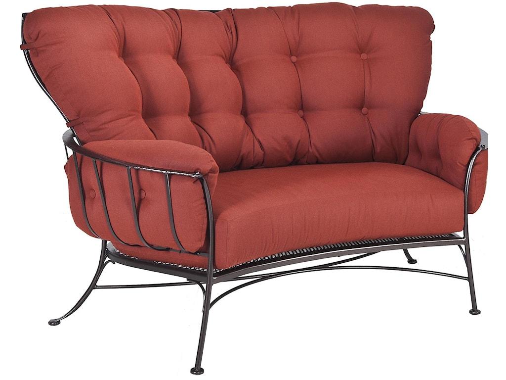 O.W. Lee Monterra Crescent Love Seat