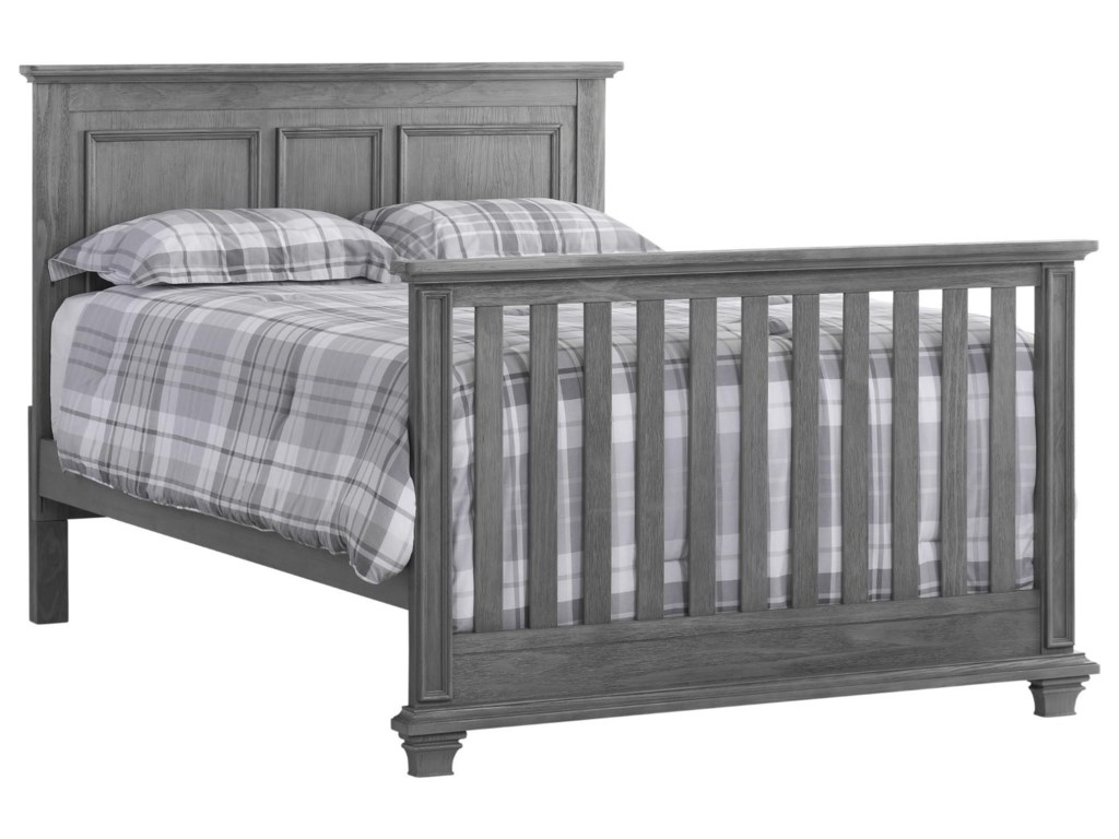 M Design Village KenilworthGray 4 in 1 Convertible Crib